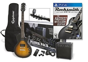 Epiphone LP Special II Player Pack Bundle with Rocksmith 2014 for Playstation 4 (Cable Included)