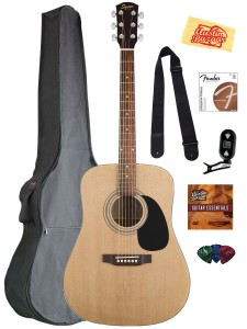 Fender Squier Acoustic Guitar Bundle with Gig Bag