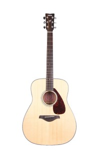 Yamaha FG700S Solid Top Acoustic Guitar, Natural