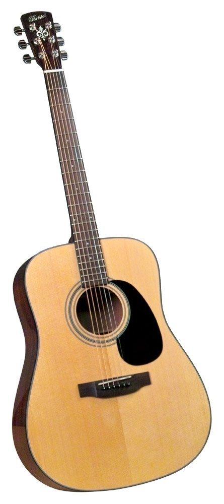 Bristol BD-16 Dreadnought Acoustic Guitar under 300