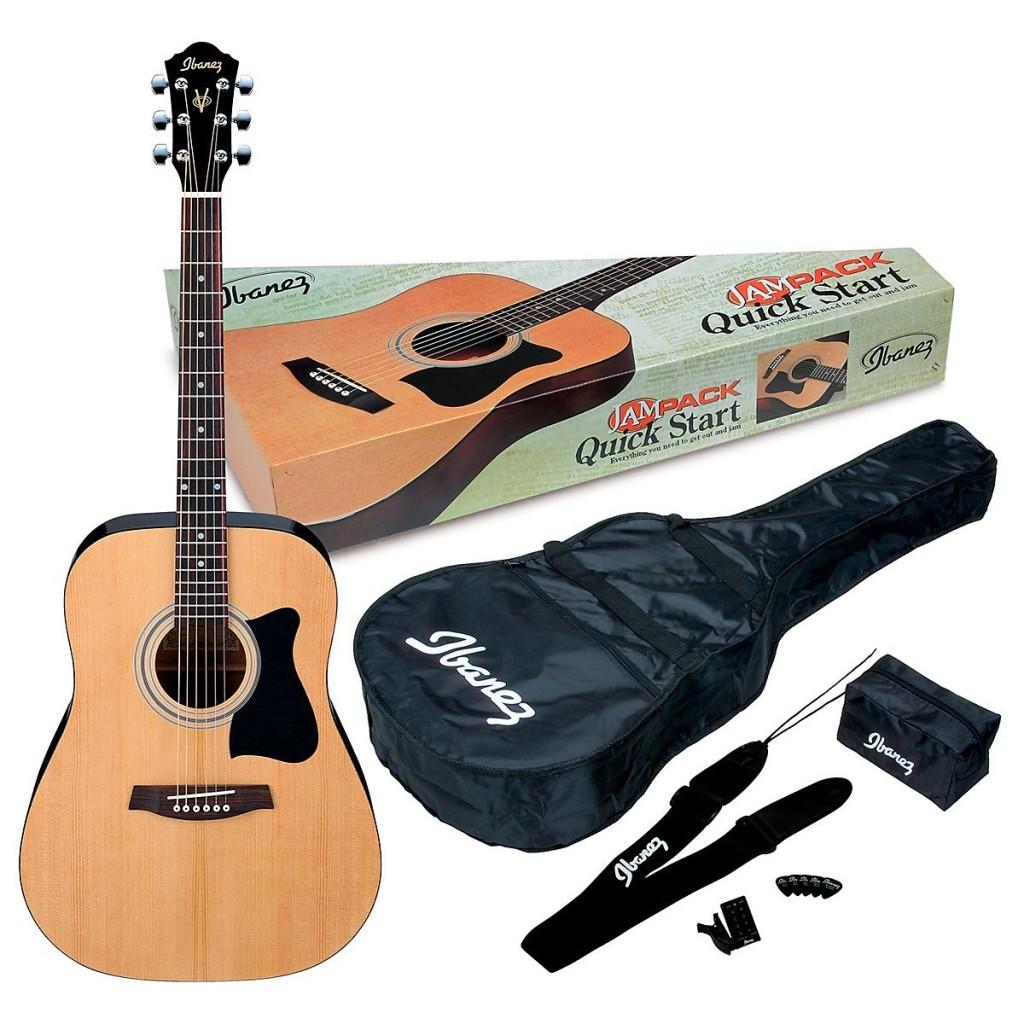 Ibanez IJV50 Acoustic Guitar Jam Pack