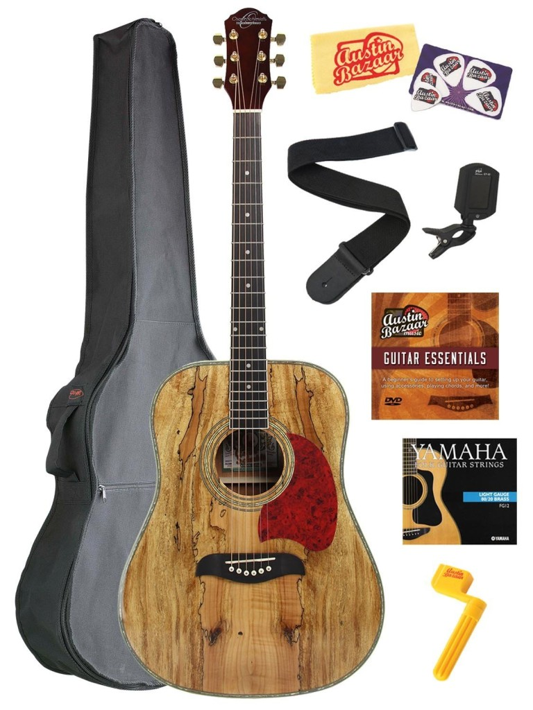 Oscar Schmidt OG2 Dreadnought Acoustic Guitar
