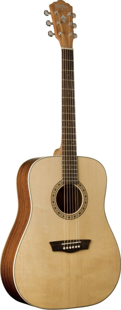 Washburn WD7S Harvest series Dreadnought acoustic Guitars under 200