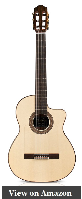 Cordoba 55FCE Negra Limited Edition Acoustic Guitar Review under 2000