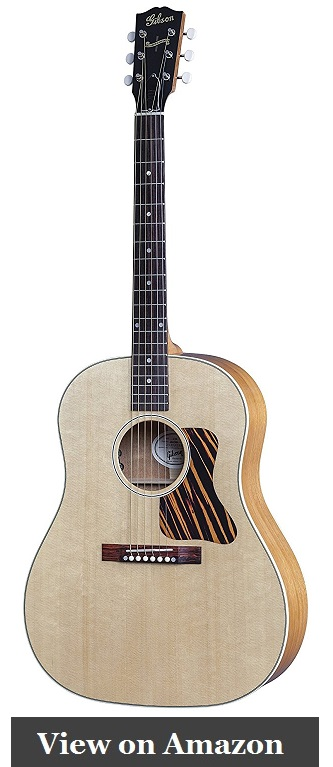Gibson J-35 Acoustic Electric Guitar Under $2000 Review