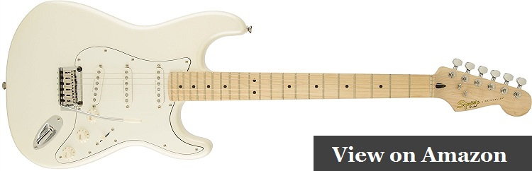 Squier by Fender Deluxe Stratocaster Electric Guitar Review
